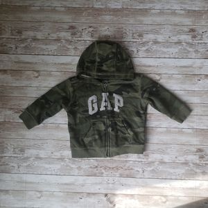 Baby Gap Camouflage Hoodie